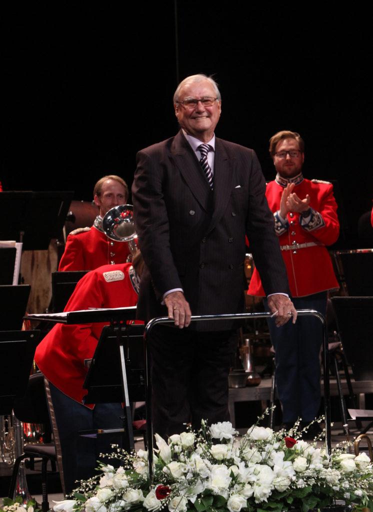 HKH Prins Henrik dirigerede ekstranummeret.
