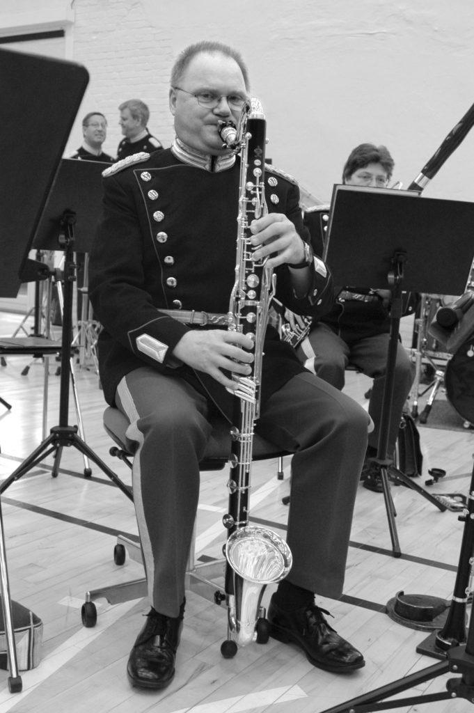 Kedelhallen 2003 Den Kongelige Livgardes Musikkorps  Basklarinet Lennart Blak