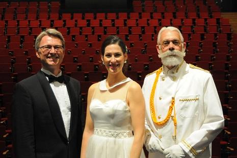 Peter Ettrup, Lady in White, dr. Wroman. Foto: Olav Vibild.