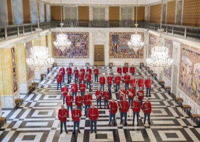Musikkorpset i Chr.borg Riddersal 2017 Foto Elisab. Rihn.