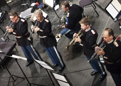 Trompeter, Blomsterkoncert 2015.  Foto Elisab. Rihn