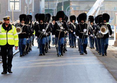 Vagtparade 15.02.17. Foto Lars Mikkelsen